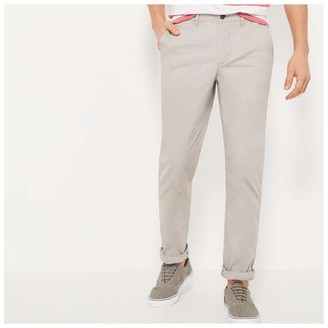 Joe Fresh Men's Essential Chinos, Light Grey (Size 33X32)