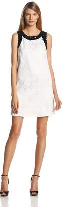Erin Fetherston Erin Women's Anna Embellished Jacquard Shift Dress
