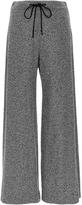 Derek Lam Tweed Jersey Flared Culottes