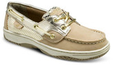 Sperry Bluefish Metallic Moc Boat Shoe - Wide Width Available (Little Kid & Big Kid)