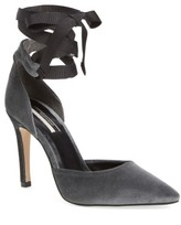 Topshop Women's Graceful Ankle Tie D'Orsay Pump