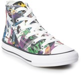 Converse Boys' Chuck Taylor All Star Batman 80th Anniversary Collaboration High Top Shoes