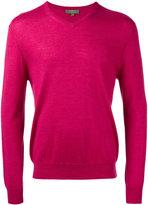 N.Peal V neck sweatshirt - men - Cashmere - S