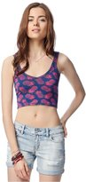 Aeropostale Womens Pineapple Crop Tank Top Xs