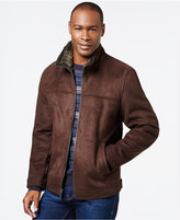 Nautica Faux-Shearling Zip Jacket