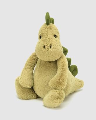 Jellycat Boy's Green Animals - Bashful Dino Medium - Size One Size at The Iconic