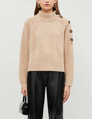 Pinko Hindi stretch-knit jumper