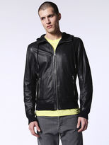 Diesel DieselTM Leather jackets 0CAOP - Black - L