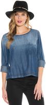 Bella Dahl Lace Back Pullover-Windsor Wash-XS