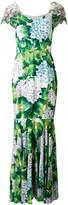 Dolce & Gabbana floral flared maxi dress