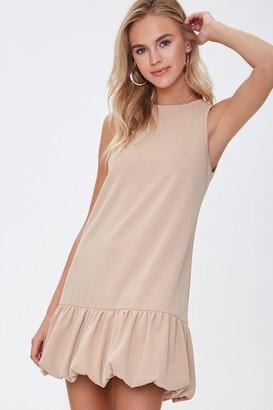 Forever 21 Flounce-Hem Tank Dress