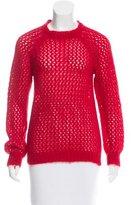 Etoile Isabel Marant Mohair Open Knit Sweater