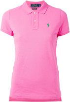 Polo Ralph Lauren embroidered logo polo shirt - women - Cotton - L