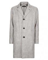 Jaeger Linen Overcoat
