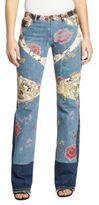 Roberto Cavalli Denim Patchwork Jeans