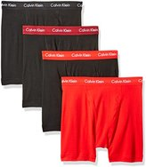 Calvin Klein Men's 4-Pack Cotton Classics Boxer Brief