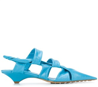 Bottega Veneta Pointed Leather Sandals