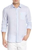 Vilebrequin Men's Solid Linen Sport Shirt