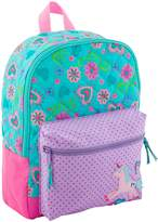 Stephen Joseph Little Girl's All Over Print Quilted Rucksack Accessory