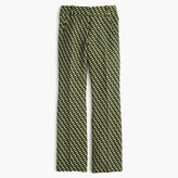 J.Crew Collection cropped wool pant in Ratti® geometric tile print