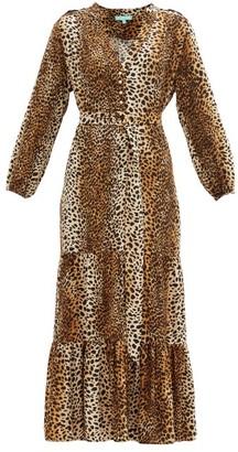 Melissa Odabash Sonja Cheetah-print Poplin Dress - Animal