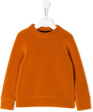 Caroline Bosmans Kids Neon velvet sweater