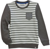 Sovereign Code Gray Stripe Seen Sweatshirt - Infant