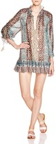 Rachel Zoe Lexi Metallic Printed Dress