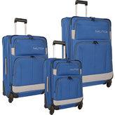 Nautica Shipline 3-Piece Luggage Set