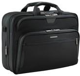 Briggs & Riley Men's 'Large' Ballistic Nylon Expandable Briefcase - Black
