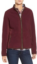 Barbour Women's 'Triplebar' Quilted Fleece Jacket