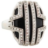 Di Modolo 18K Onyx & Diamond Favola Ring