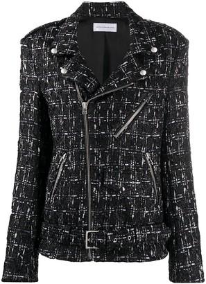Faith Connexion Tweed Biker Style Jacket
