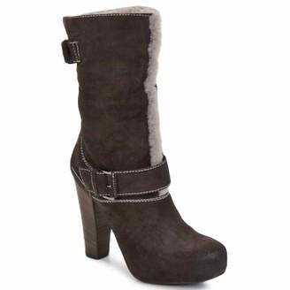 VIC EFARAT women's Low Ankle Boots in Brown