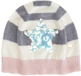 Juicy Couture Girls Star Sequin Beanie