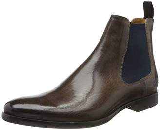 Melvin & Hamilton MH HAND MADE SHOES OF CLASS Men's Clint 7 Chelsea Boots, (Blue Crust-Stone-Elastic-Navy-Lining-Rich Tan-Insole Leather-Hrsrnavyv)