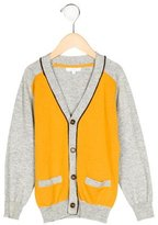 Jacadi Boys' Colorblock Rib Knit Cardigan