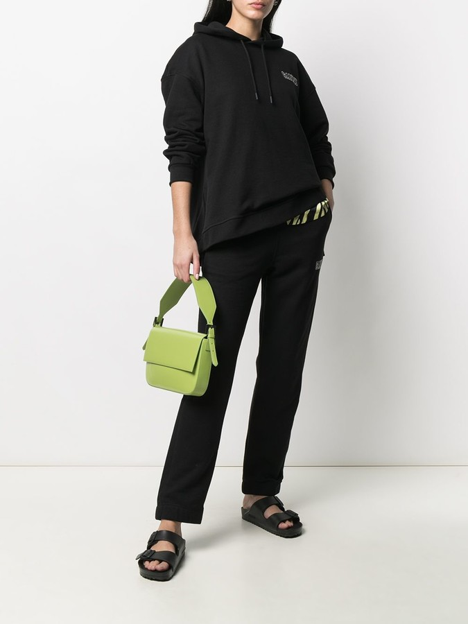 Thumbnail for your product : Ganni Elasticated-Waist Track Pants