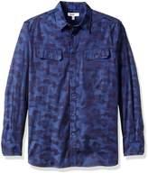 William Rast Men's Baker Button Down Shirt