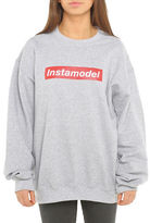 Adolescent Clothing Instamodel Crew Neck Sweatshirt