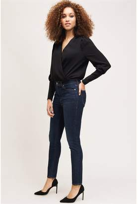 Dynamite High Rise Kate Skinny Jean Evie Dark Wash