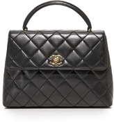 What Goes Around Comes Around Chanel Kelly Top Handle Bag (Previously Owned)