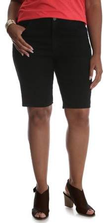 Riders Women`s Plus Simply Comfort Bermuda Short