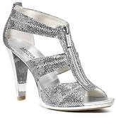MICHAEL Michael Kors Berkley Metallic T-Strap High Heel Sandals