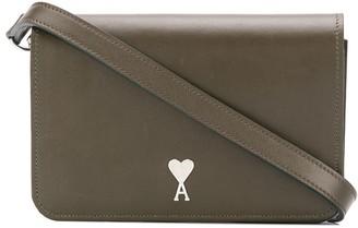 Ami small De Coeur stud accordion belt bag
