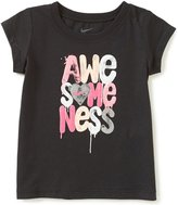 Nike Baby Girls 12-24 Months Awesomeness Short-Sleeve Tee