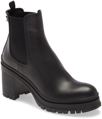Prada Lug Sole Chelsea Boot