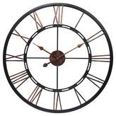 Infinity Instruments The Metal Fusion Wall Clock Black/Copper