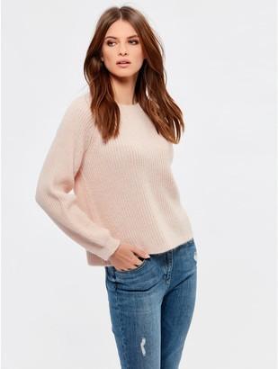 M&Co Petite blouson sleeve jumper