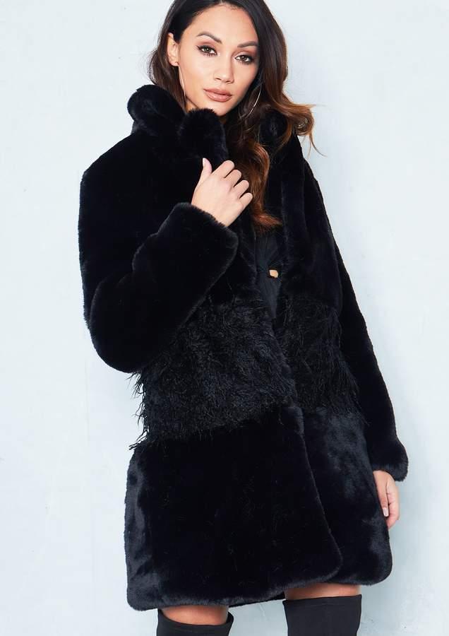 ff9e9cda08b Shaggy Faux Fur Coat - ShopStyle UK
